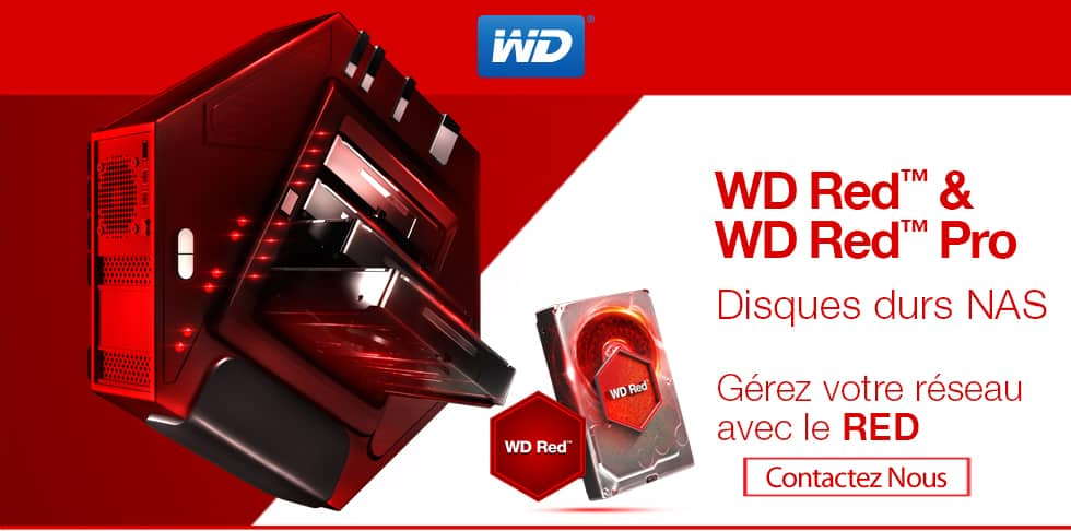 WD Red™ and WD Red™ Pro NAS Hard Drives - Network it in RED - Buy now.